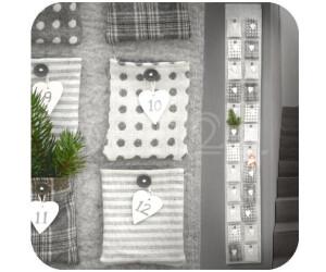 Dragimex Adventskalender Weihnachtskalender mit 24 Taschen