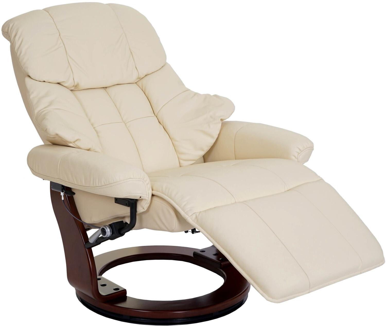 MCW Windsor 2 Sessel 360° drehbar creme walnuss