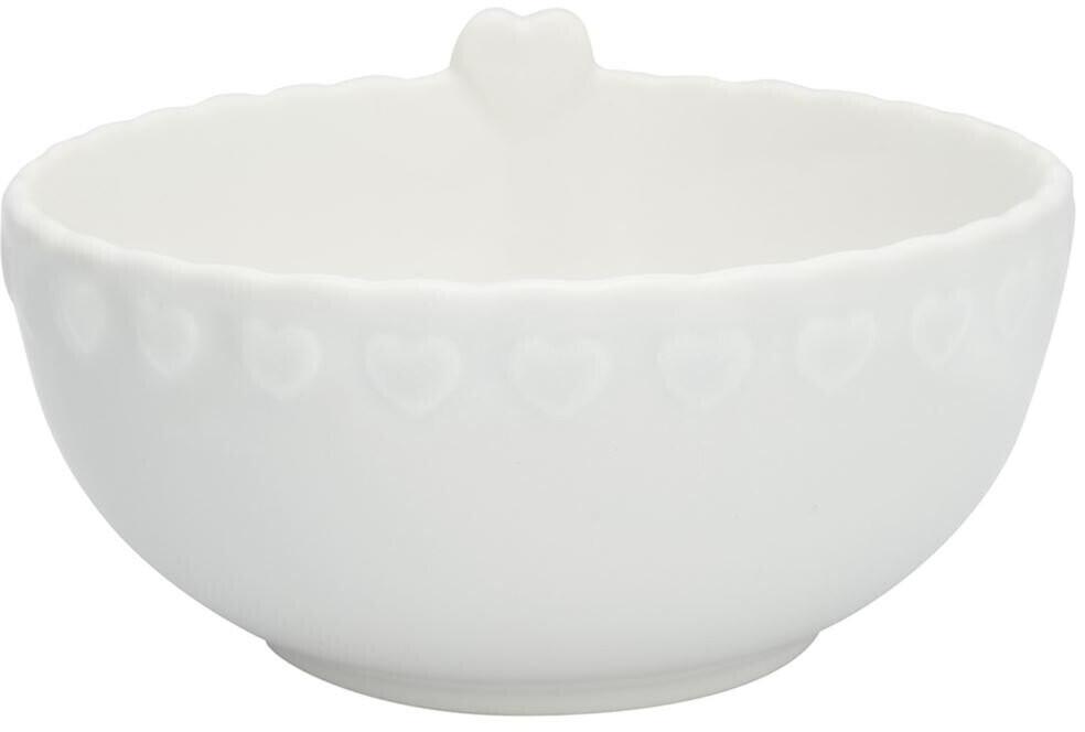 Greengate Penny Bowl white medium (15 cm)
