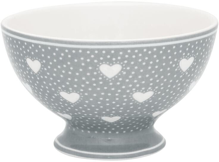Greengate Penny Suppenbowl grey (15 cm)