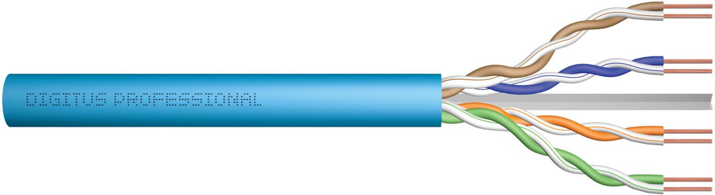 Digitus Netzwerkkabel CAT 6A 305m blau