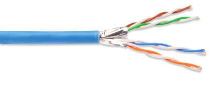 Digitus Netzwerkkabel CAT 6A 500m blau