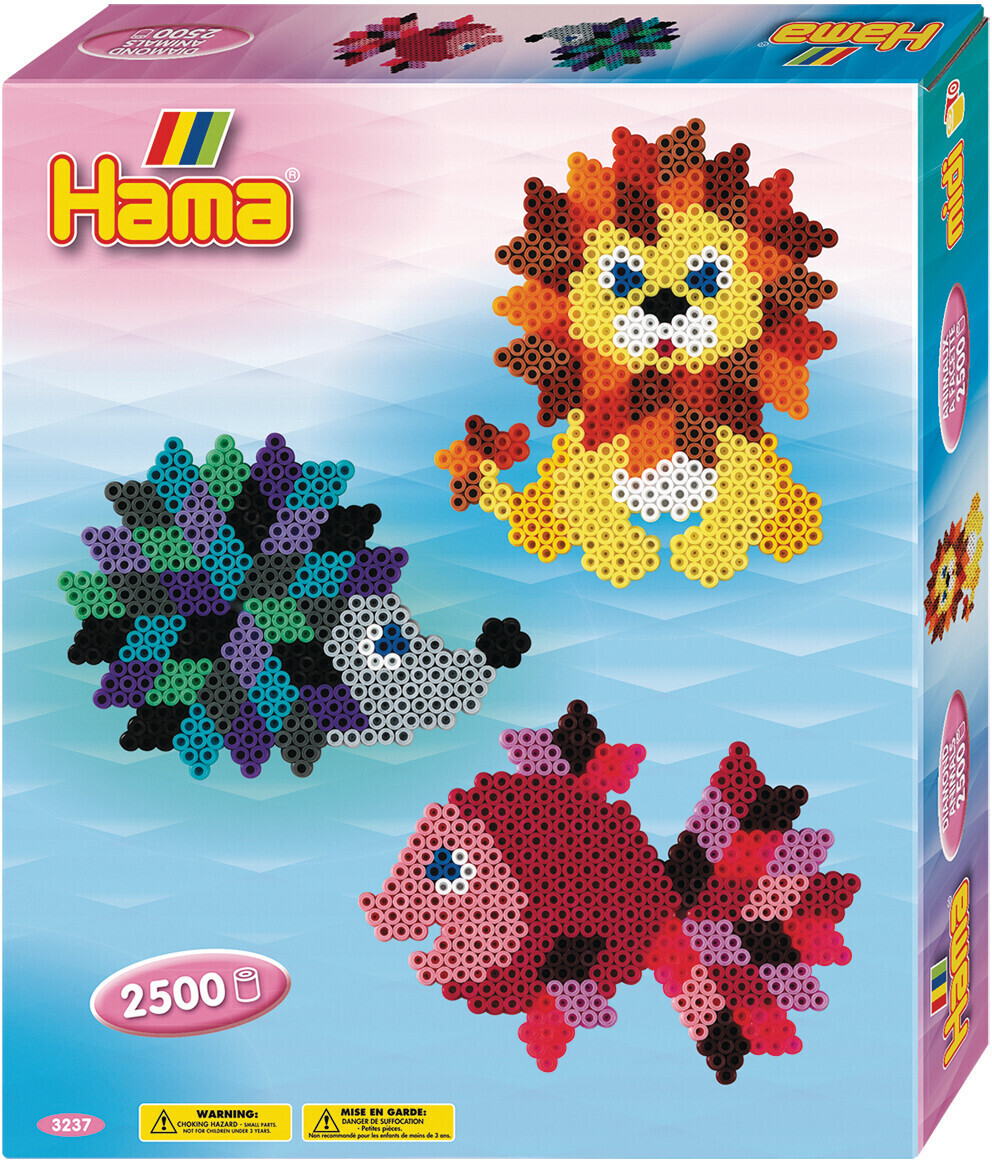 Hama.dk Geschenkpackung Kristalltiere (3237)
