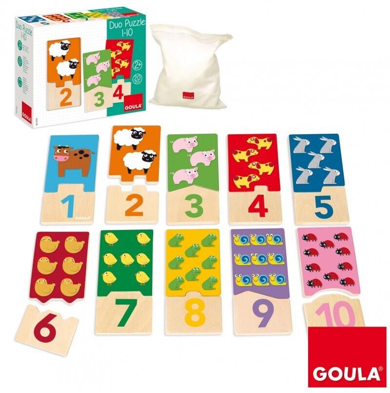 Goula Puzzle Duo 1-10