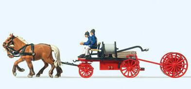 Preiser Feuerwehr Handdruckspritze (30425)
