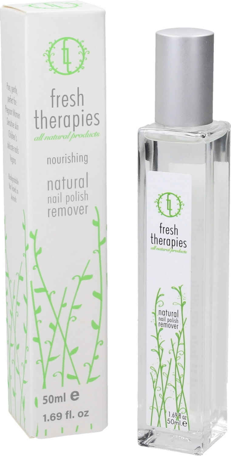 Fresh Therapies Natural Nail Polish Remover (50ml)