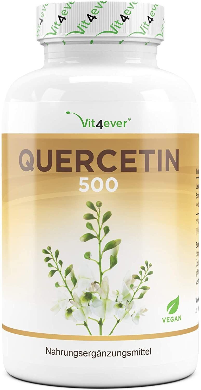 Vit4ever Quercetin 500 Kapseln (120 Stk.)