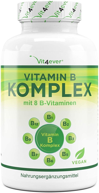Vit4ever Vitamin B Komplex Tabletten (500 Stk.)