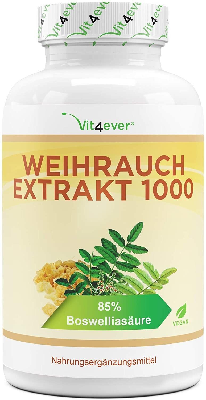 Vit4ever Weihrauch Extrakt 1000 Kapseln (365 Stk.)