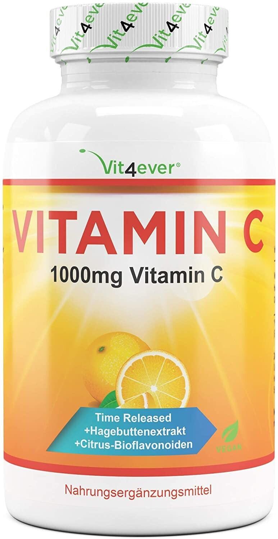 Vit4ever Vitamin C 1000mg Tabletten (365 Stk.)