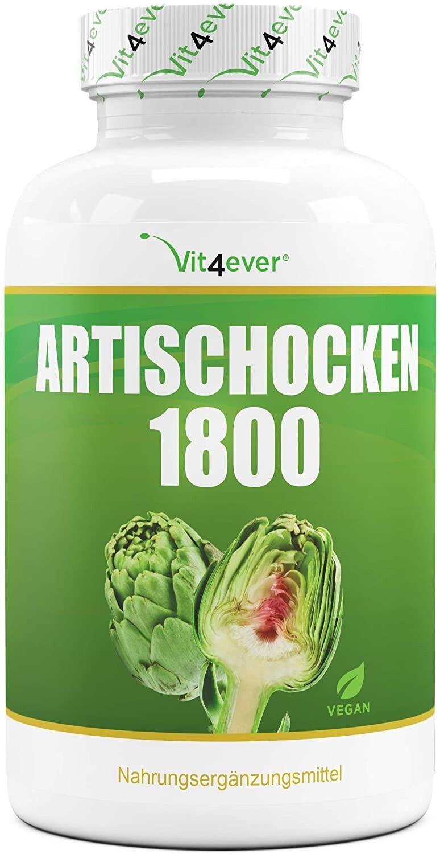 Vit4ever Artischocken 1800 Kapseln (150 Stk.)
