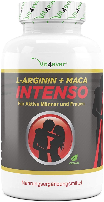 Vit4ever L-Arginin Maca Intenso Kapseln (240 Stk.)