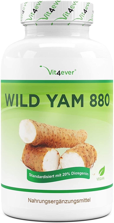 Vit4ever Wild Yam 880 Kapseln (240 Stk.)