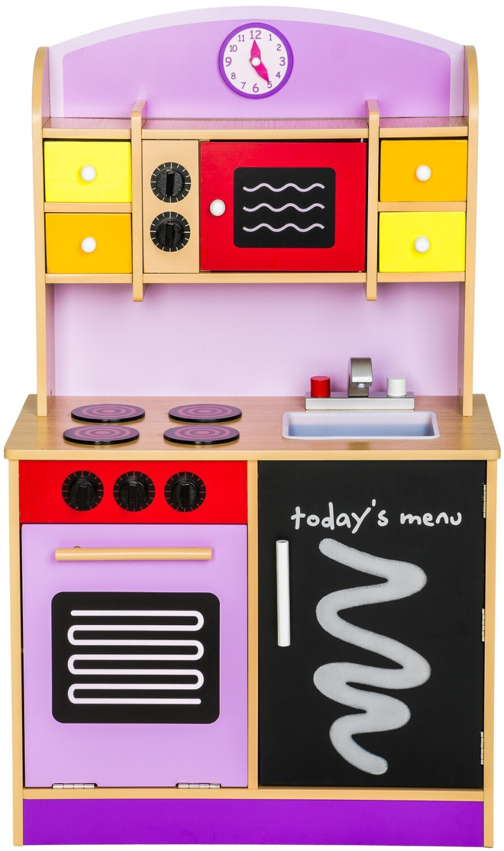 TecTake Kinderküche lila