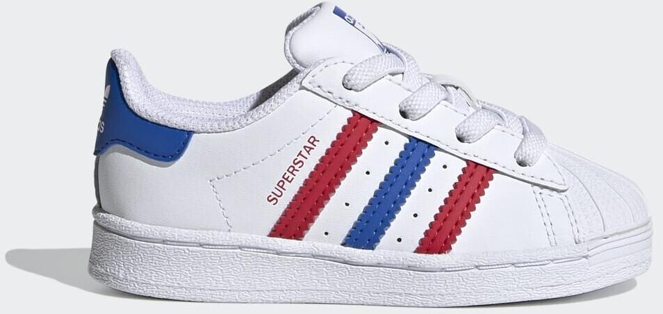 Adidas Superstar Cloud White/Blue/Scarlet (FW5849)