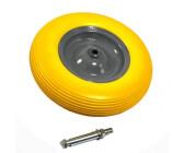 12 mm 20 mm Gew Westfalia Schubkarrenrad Gummirad  Ersatzrad Bohrung