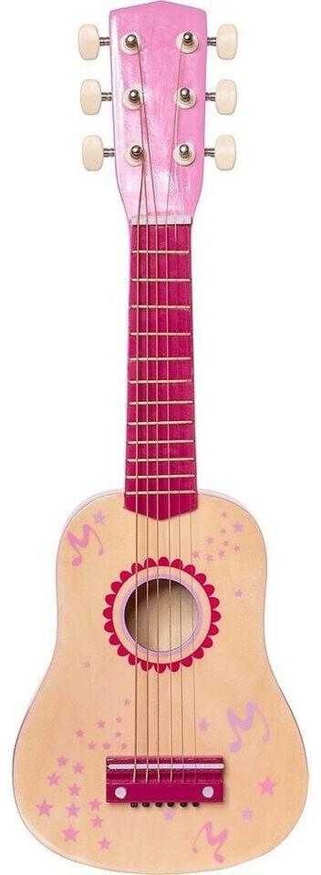 myToys Gitarre Holz 53 cm, pink