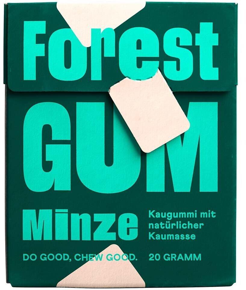 Forest Gum Kaugummi Minze zuckerfrei (20g)