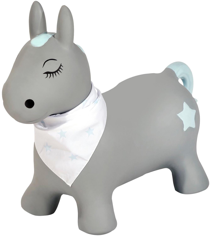 Kindsgut Hüpftier Pony grau