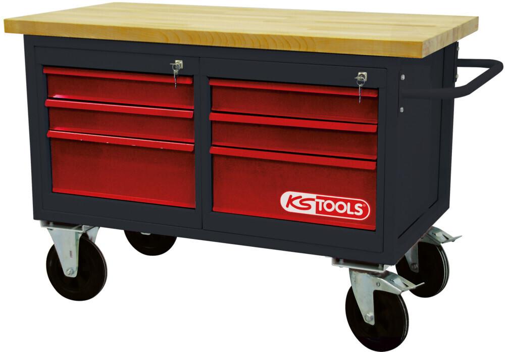 KS Tools Fahrbare Werkbank -  mm (865.0011)