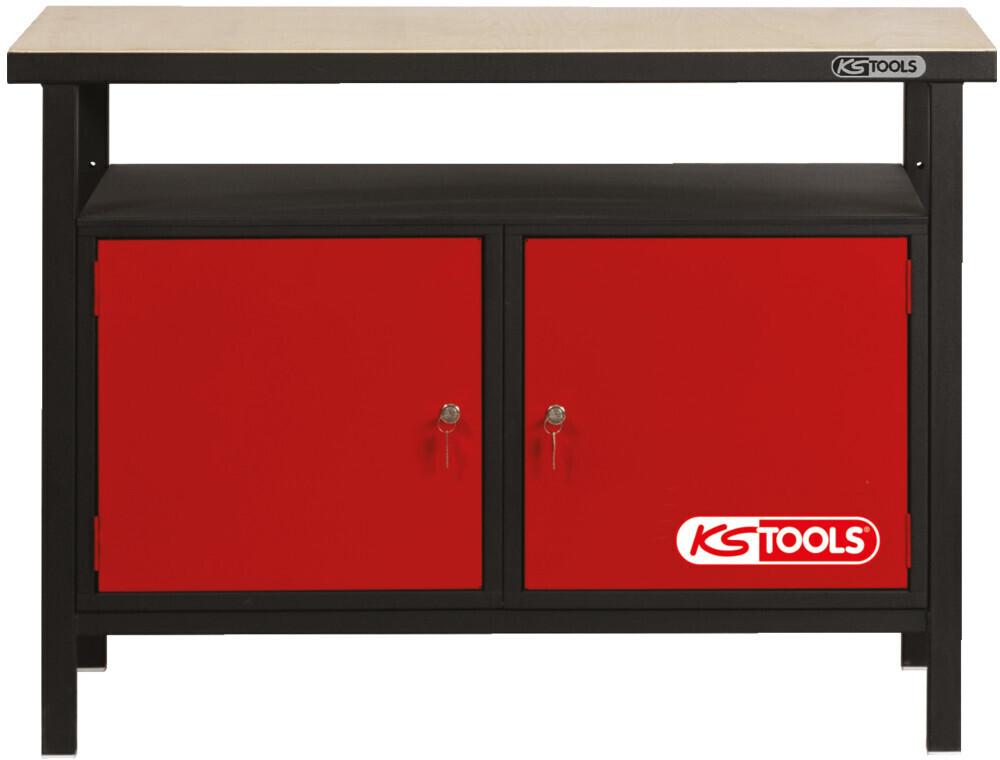 KS Tools Profi-Werkbank  - 1200 x 600 x 840 mm (865.0002)