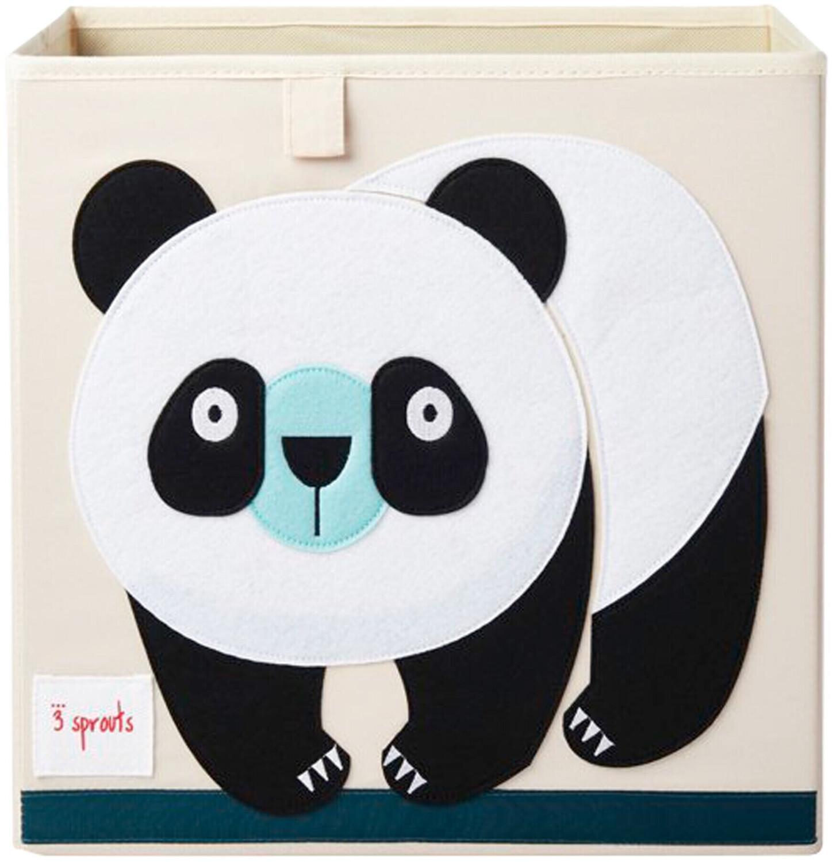 3 Sprouts Aufbewahrungsbox 33x33x33cm Panda