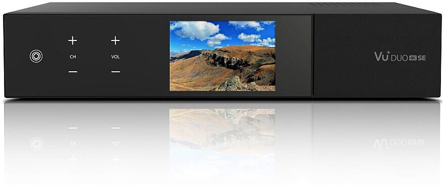 Vu+ Duo 4K SE 1x DVB-S2X FBC Twin Tuner 500GB