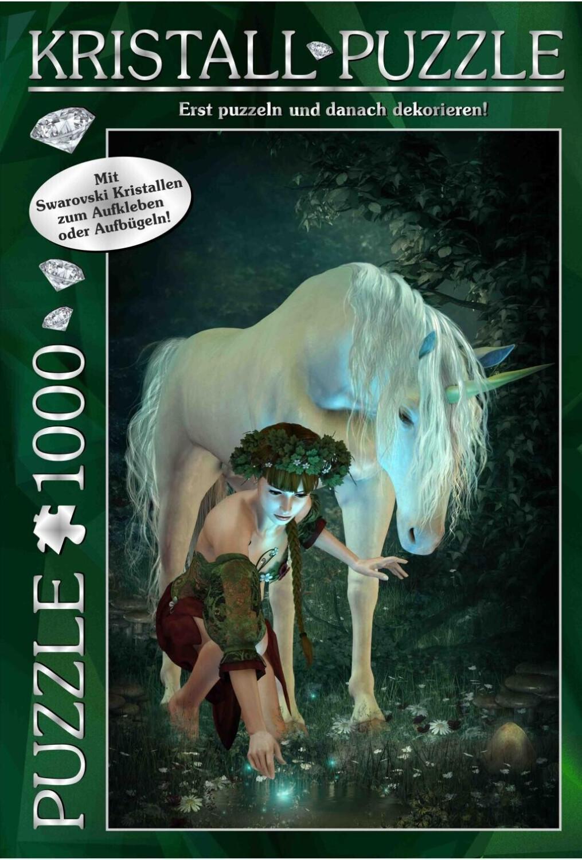 M.I.C. Kristall Puzzle 1000 Teile Motiv: My Unicorn