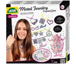 Lena Metal Jewelry Kristallsteine Set
