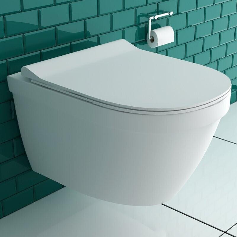 Alpenberger Lotuseffekt Hänge-WC 8200 weiß (680374)