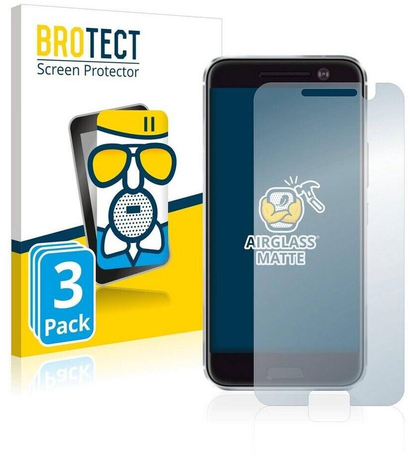 BROTECT Entspiegelungs-Panzerglasfolie für HTC 10 (3 Stück)