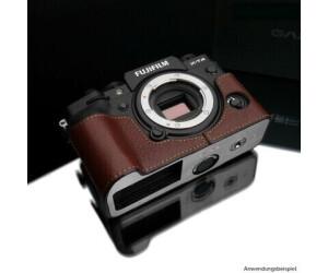 GARIZ Half Case für Fujifilm X-T4  braun