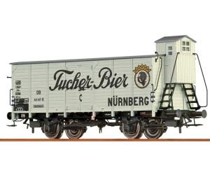 """Brawa Bierwagen G10 """"Tucher Bier"""" der DB (67473)"""