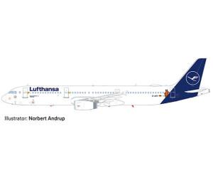 Herpa Lufthansa Airbus A321