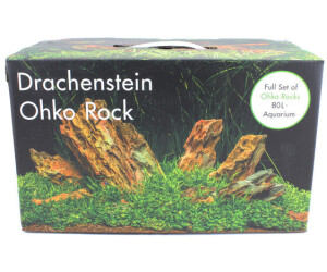 aquadeco Deko-Set Drachenstein für 80L