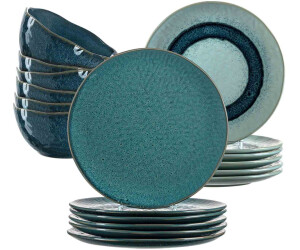 Leonardo Geschirr-Set Matera blau (18-tlg.)