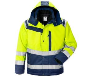 Fristads High Vis Winterjacket 4043 PP yellow/marine