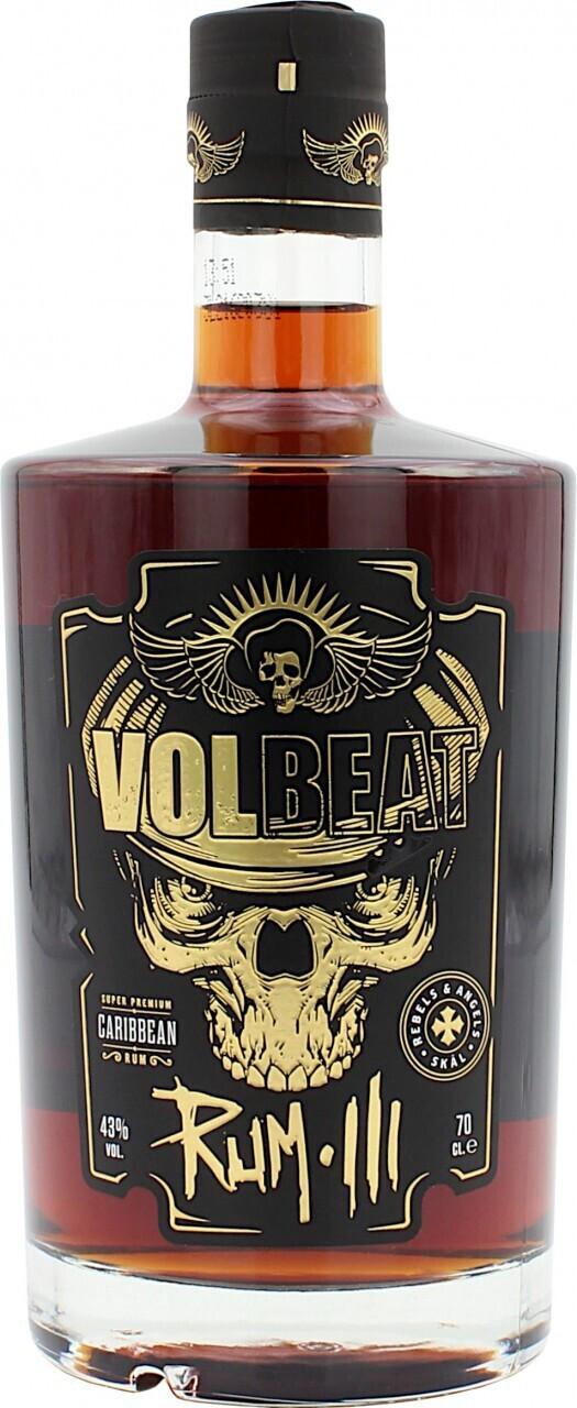 Volbeat Rum Vol III 15 Años 0,7l 43%