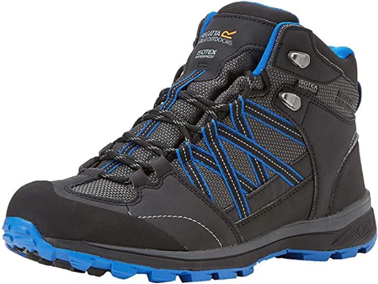 Regatta Mens Samaris Mid II High Rise Hiking Boots grey ash oxfordbl