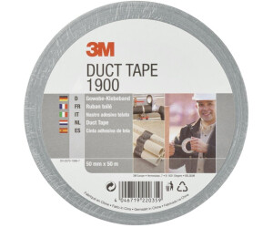 3M Value Duct Tape 1900 – Silver-grey duct tape