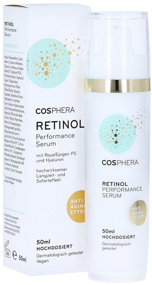 Cosphera Retinol Performance Serum (50ml)