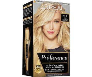 L'Oréal Paris Préférence Haarfarbe 9.1 Oslo