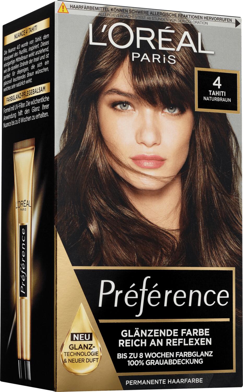 L'Oréal Paris Préférence Haarfarbe 4 Tahiti