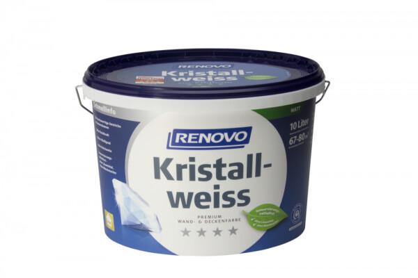 Renovo Kristallweiß matt 10 l