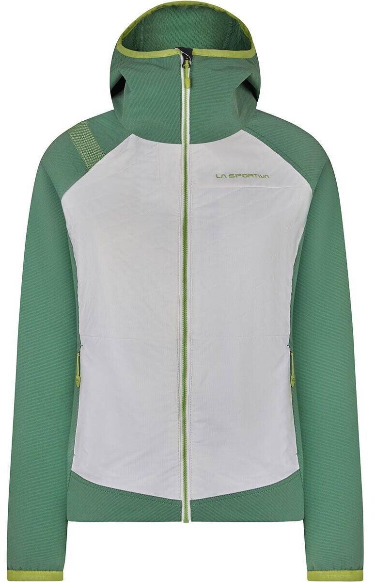 La Sportiva Kobik Hoody W white/grass green