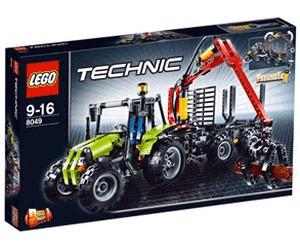 Lego Technic Traktor Mit Forstkran 8049 Ab 22222