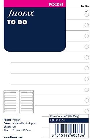 Filofax Pocket To-Do Planner