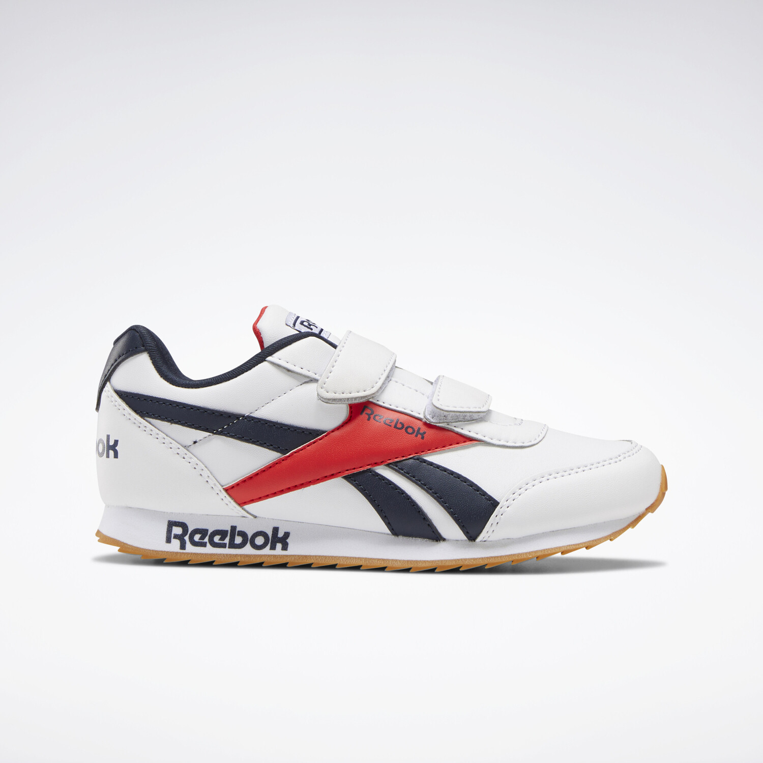Reebok Royal Classic Jogger 2.0 White/Collegiate Navy/Radiant Red