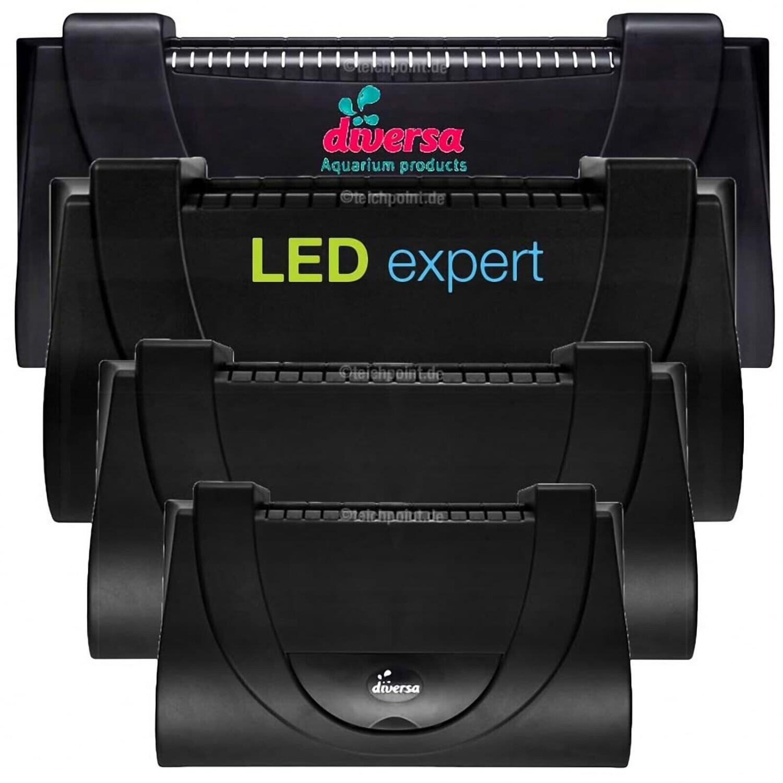 diversa ARISTO LED Aquarium Abdeckung 80x35cm 17W