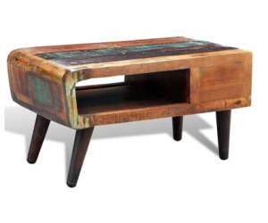 Vidaxl Reclaimed Wood Coffee Table Ab 260 46 Preisvergleich Bei Idealo De